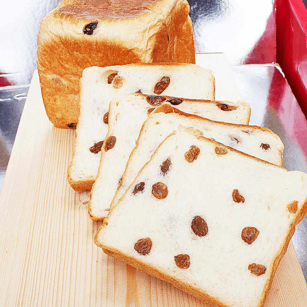 マスカットレーズン食パン